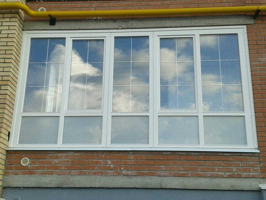 6 окна в дом.